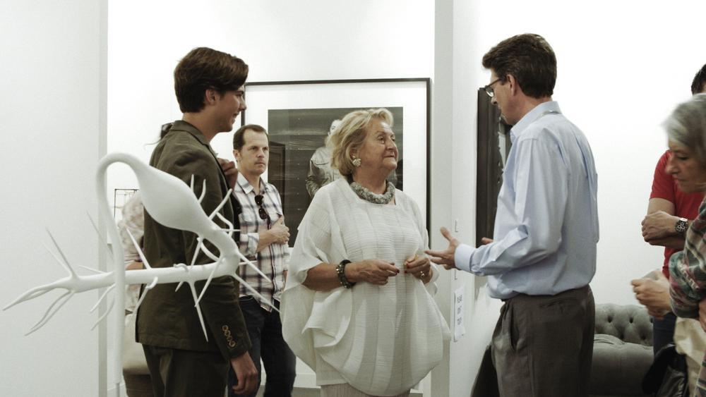 Ursula Krinzinger, Gallery owner